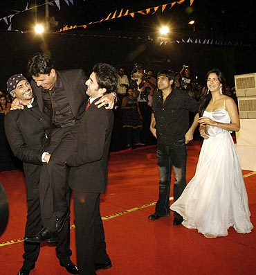 Arjun Rampal, Manoj Bajpai, Ranbir Kapoor and Katrina Kaif