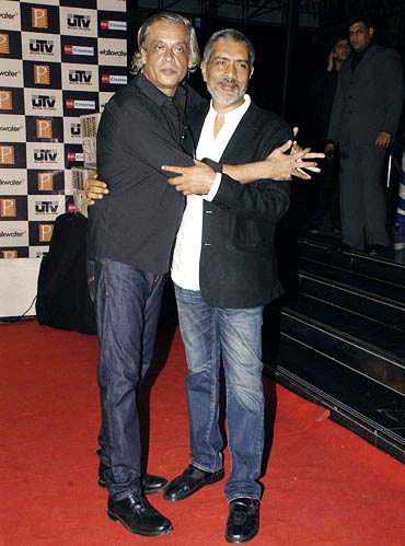 Sudhir Mishra and Prakash Jha