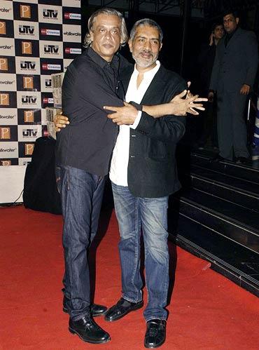 Sudhir Mishra and Prakash Jha