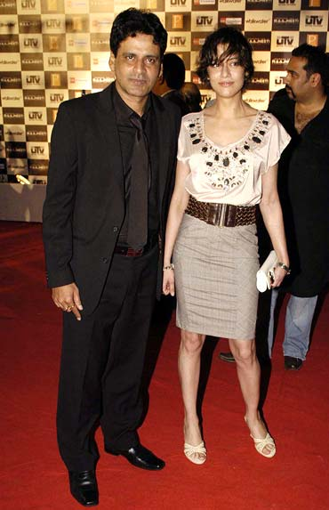 Manoj Bajpai and Shabana Raza