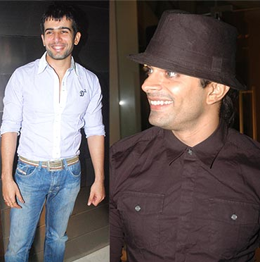 Jay Bhanushali and Karan Singh Grover