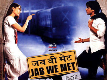 A poster of Jab We Met