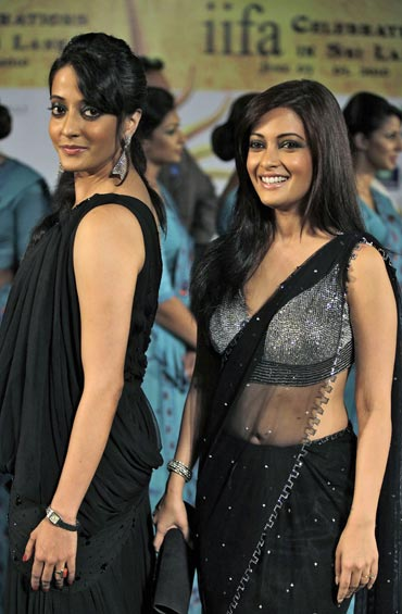 Riya Sen and Raima Sen