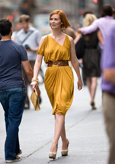 Cynthia Nixon in Sex and the City 2