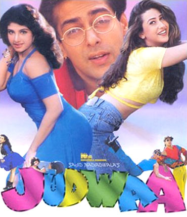 A poster of Judwaa