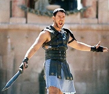 A scene from Gladiator