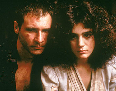 A scene from Blade Runner