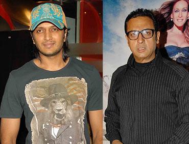 Riteish Deskmukh and Gulshan Grover