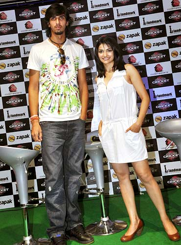 Ishan Sharma and Prachi Desai