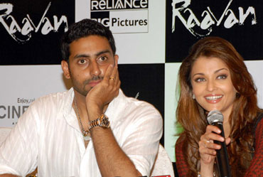 Abhishek Bachchan and Aishwarya Rai