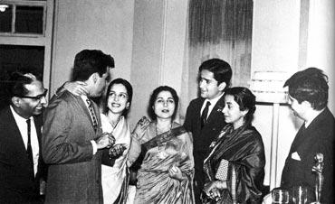 Leela Naidu and Shashi Kapoor
