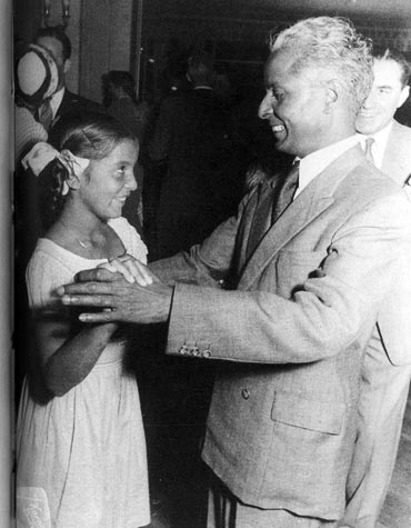 Leela Naidu with father Ramaiah Naidu