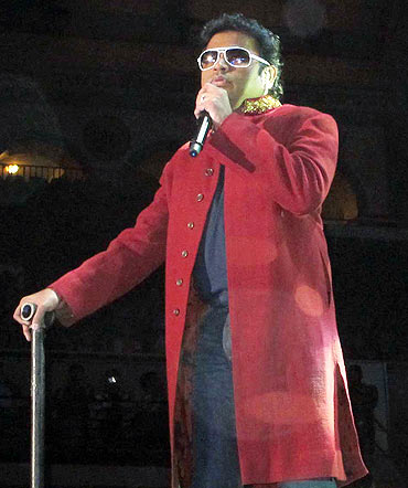 A R Rahman sings