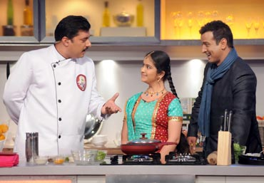 A first episode of Kitchen Champion