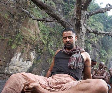 Vikram in Raavanan