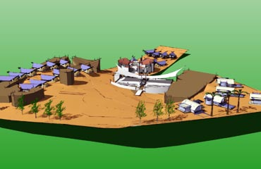 A sketch of the site