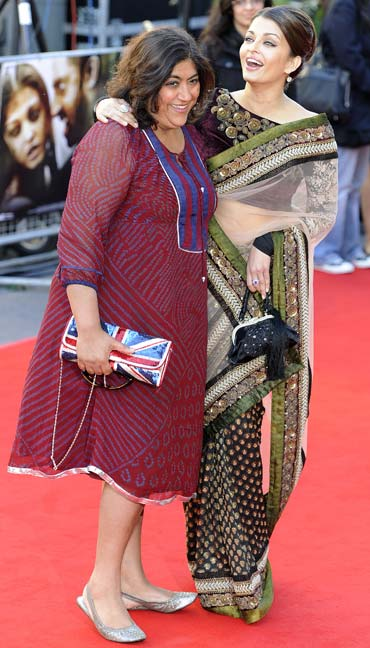 Director Gurinder Chadha and Aishwayra Rai