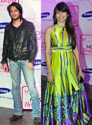 Riteish Deshmukh and Maria Goretti