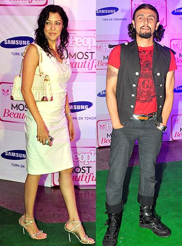 Aditi Gowitrikar and Sonu Nigam