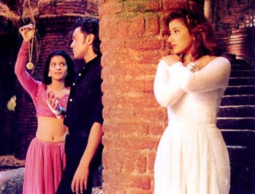 A scene from Gupt