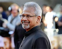 Mani Ratnam at the London premiere of Raavan