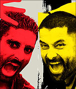 Abhishek Bachchan and Vikram