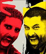 Abhishek Bachchan and Vikram