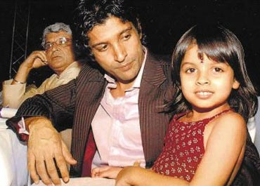 Farhan Akhtar and Shakya