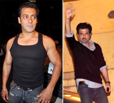 Salman Khan and Anil Kapoor