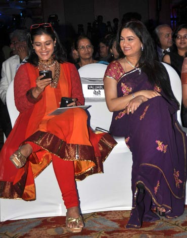 Kajol and Padmini Kolhapure
