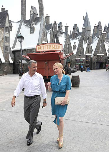 Mark Woodbury, president, Universal Creative, in Universal Orlando and J K Rowling