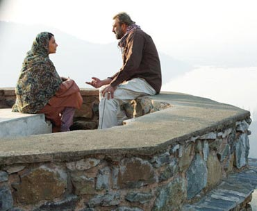 A scene from Lamhaa