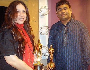 Rujuta Vaidya and A R Rahman
