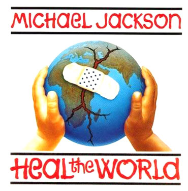An album cover of Heal The World