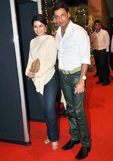 Tisca Chopra and Madhur Bhandarkar