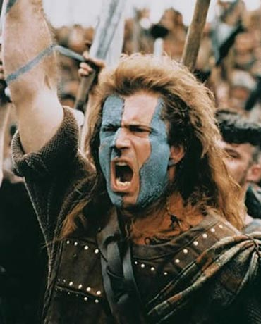 A scene from Braveheart
