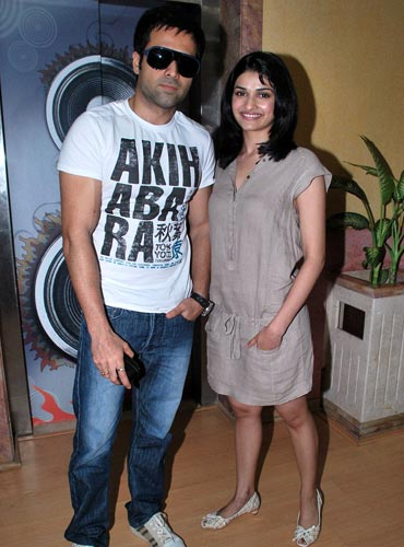 Emraan Hashmi and Prachi Desai