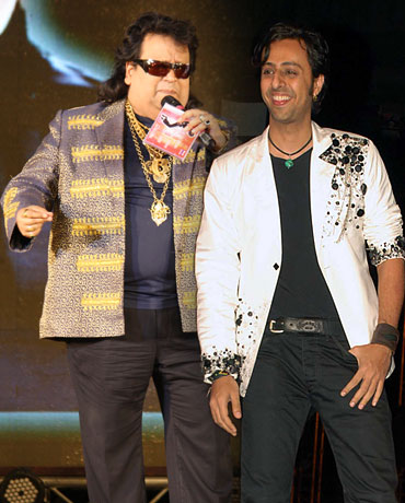 Bappi Lahiri and Salim Merchant