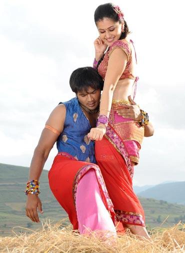 A scene from Jhumandi Naadam