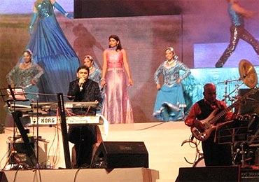 Chinmayi with A R Rahman