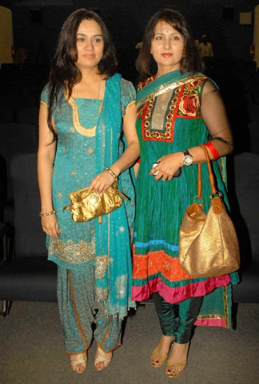 Padmini Kolahpure and Poonam Dhillon