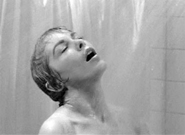 A scene from Psycho
