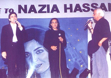 In Pakistan for the Nazia Hassan tribute concert
