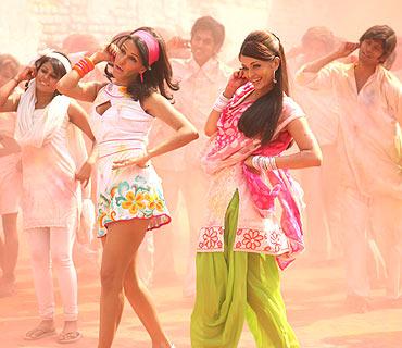 Neha Dhupia and Aishwarya Rai Bachchan