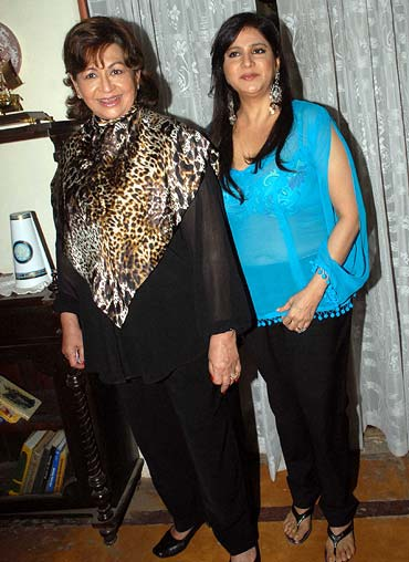 Helen and Asha Sachdev