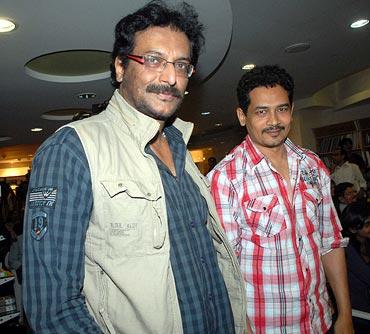 Milind Gunaji and Atul Kulkarni