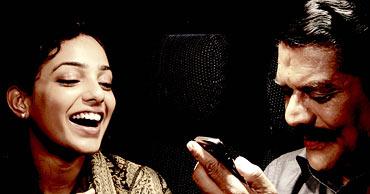 Nithya Menon and Jagathy Sreekumar