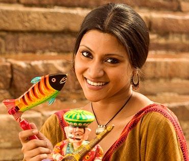 Konkona Sen Sharma in Lagaa Chunari Main Daag