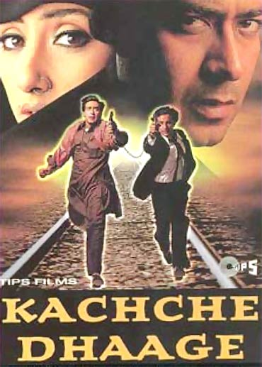 A poster of Kachche Dhaage