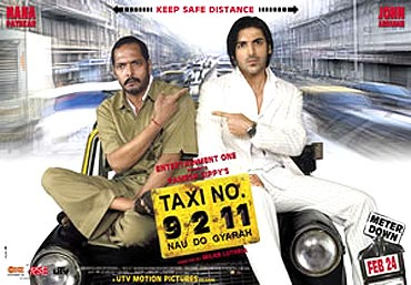 A poster of Taxi No 9211